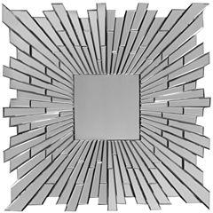 Bang Sunburst Square Wall Mirror