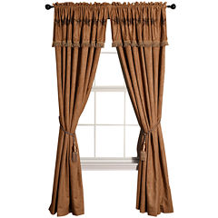 HiEnd Accents Luxury Star Curtain Panel