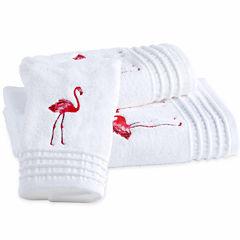 Destinations Pink Flamingo Hand Towel