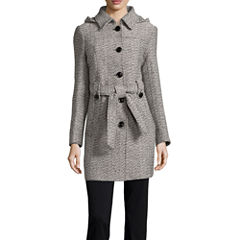 Liz Claiborne® Belted Pea Coat