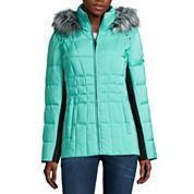 ZeroXposur® Shimmer Puffer Coat