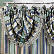 Contempo Shower Curtain with Valance