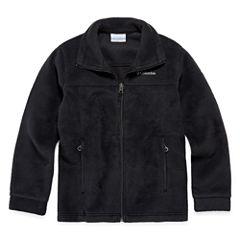 Columbia® Flattop Ridge Long-Sleeve Full-Zip Fleece Jacket - Boys 8-20