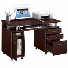 RTA Products LLC Techni Mobili Complete Workstation Computer Desk with Storage