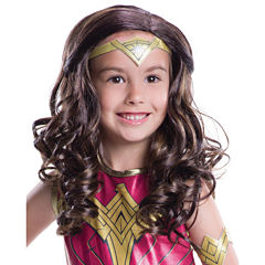 Batman v Superman: Dawn of Justice - Kids Wonder Woman Wig - One-Size