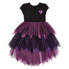 Short Sleeve Descendants A-Line Dress - Big Kid Girls