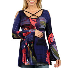 24/7 Comfort Apparel Leading Lady Tunic Top Maternity