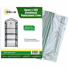4 Tier Greenhouse Replacement Cover