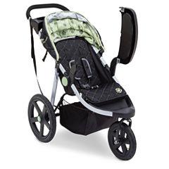 Delta Children J is for Jeep Brand Stroller Green