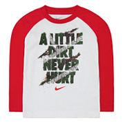 Nike® Long-Sleeve Graphic Tee - Preschool Boys 4-7
