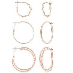 Decree 3 Pair Earring Sets