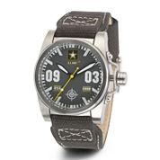 Wrist Armor® C1 Mens US Army Olive Canvas Watch