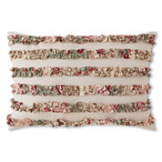 Home Expressions™ Sweet Floral Oblong Decorative Pillow