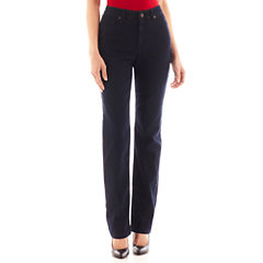 Liz Claiborne® Essential Original-Fit Straight-Leg Jeans