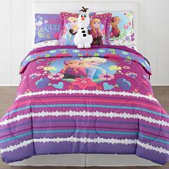 Disney® Frozen Nordic Summer Reversible Twin/Full Comforter + BONUS Sham Collection