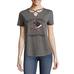 Snow White Graphic T-Shirt- Juniors