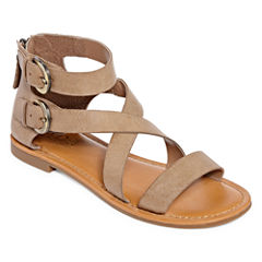 a.n.a Maple Womens Flat Sandals