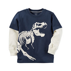 Carter's Long Sleeve T-Shirt-Baby Boys