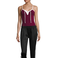 City Streets Sleeveless Bodysuit-Juniors