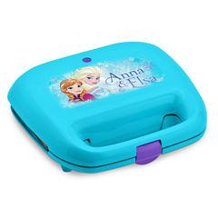Disney Collection Frozen Anna & Elsa 2-Slice Nonstick Waffle Maker