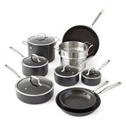 Cooks Signature 14-pc. Hard-Anodized Cookware Set