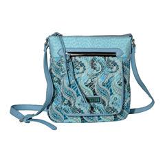 Waverly Swirled Paisley Crossbody Bag