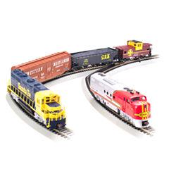 Bachmann Trains - Santa Fe, Digital Commander Ready To Run Electric Train Set