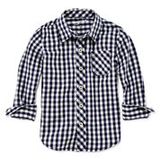 Arizona Long-Sleeve Woven Shirt - Toddler Boys 2t-5t