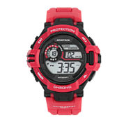 Armitron® Mens Red Strap Watch