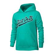 Nike® Long-Sleeve Pullover Hoodie - Girls 7-16