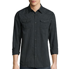 I Jeans By Buffalo® Murdock Long-Sleeve Woven Shirt