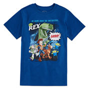 Disney Collection Short-Sleeve Toy Story Cast Graphic Tee - Boys 8-20