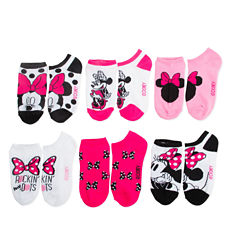 Disney Minnie Mouse 5-pk. No-Show Socks - Girls