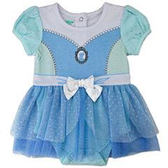 2-pc. Cinderella Bodysuit Set-Baby Girls