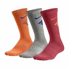 Nike 100 3-pk. Crew Socks