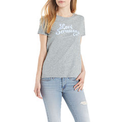 Levi's Short Sleeve Crew Neck T-Shirt-Womens