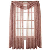 MarthaWindow™ Calais Paisley Sheer Window Treatments