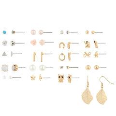 Decree 20-pc. Multi Color Earring Sets