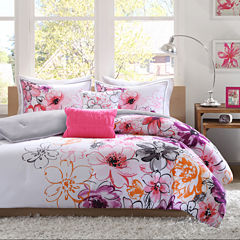 Intelligent Design Cassidy Floral Comforter Set