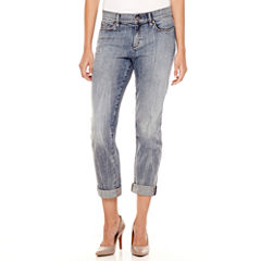 Liz Claiborne® City-Fit Boyfriend Skinny Jeans - Tall
