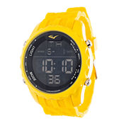 Everlast Yellow and Black Digital Watch