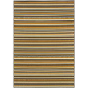 Stripe Indoor/Outdoor Rectangular Rug