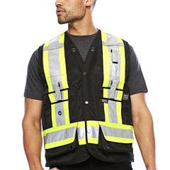 Work King® High Visibility Surveyor Vest - Big & Tall