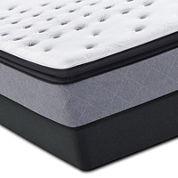 Sealy® Posturepedic Iguaza Falls Plush Euro Pillow-Top Mattress and Box Spring