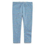 Okie Dokie® Classic Printed Leggings - Baby Girls newborn-24m