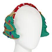Mixit™ Knit Christmas Tree Earmuffs