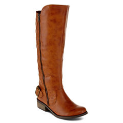 Arizona Cody Womens Quilted Boots - Wide Calf