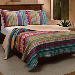 Greenland Home Fashions Southwest Quilt Set & Accessories