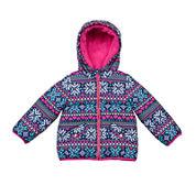 Carter's® Snowflake Long-Sleeve Coat - Toddler Girls 2t-5t