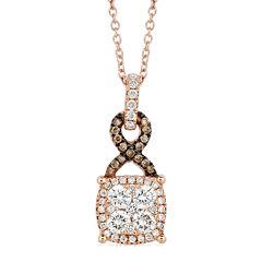 Le Vian Grand Sample Sale 1/2 CT. T.W. Diamond 14K Rose gold Pendant